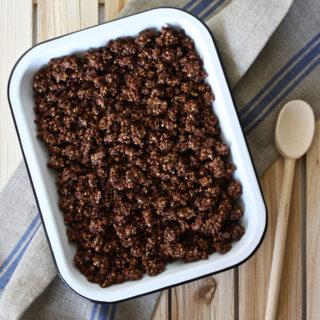 チョコレート・グラノーラ [ローフード]