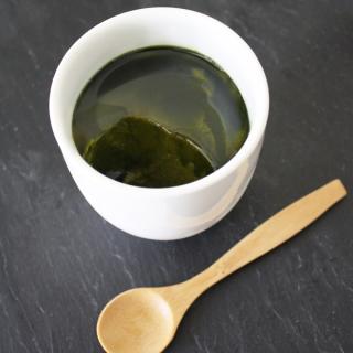 抹茶アボカドプリン [ローフード]