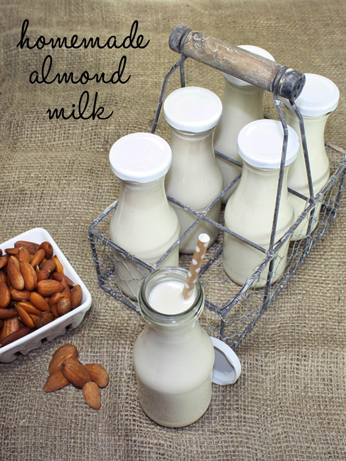 raw vegan almond milk