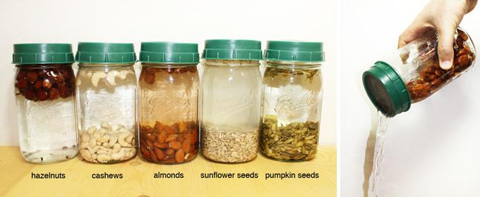 nut milk seed milk