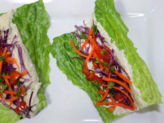 raw vegan zucchini hummus