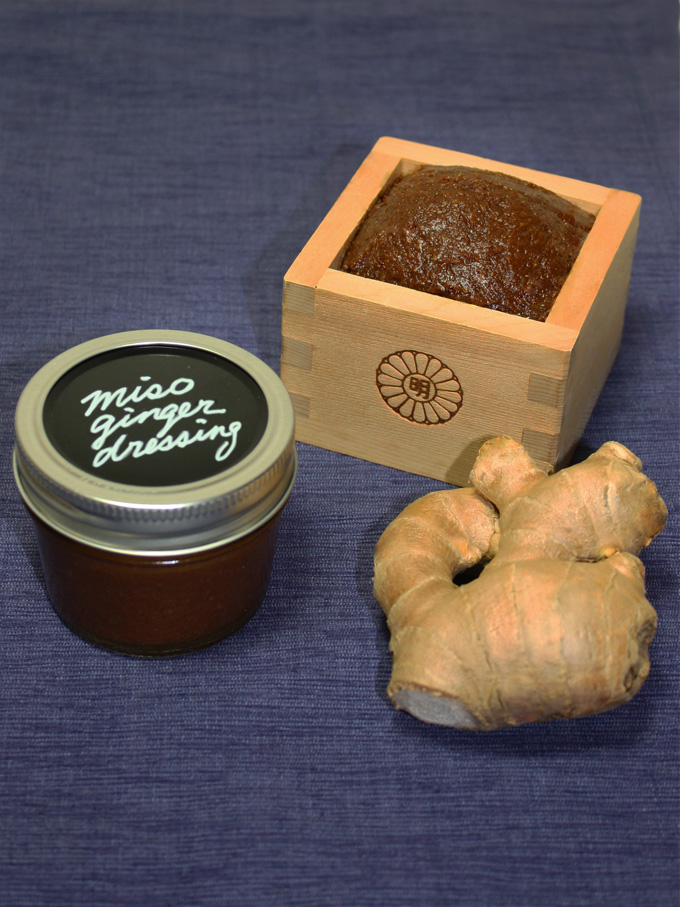 raw vegan miso ginger dressing