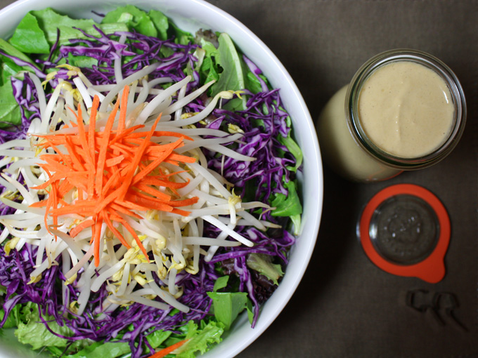 raw vegan asian tahini dresssing