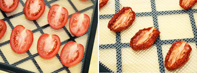 homemade sun dried tomatoes