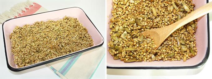 raw vegan granola
