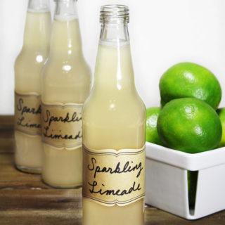 Raw Vegan Sparkling Limeade