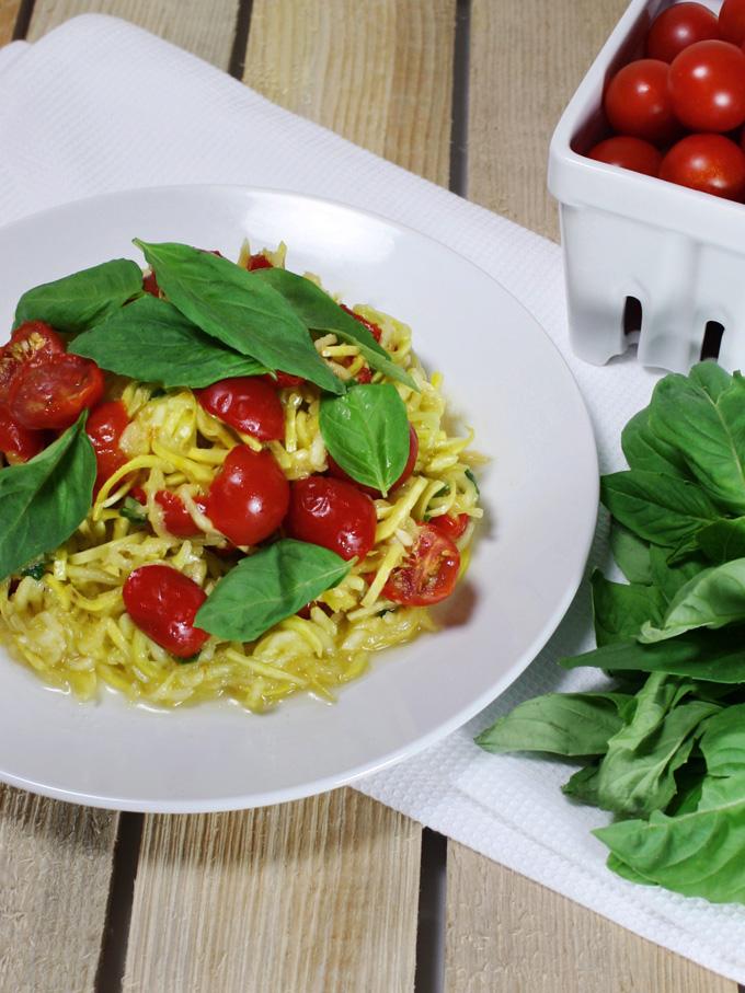 raw vegan pasta pomodorini