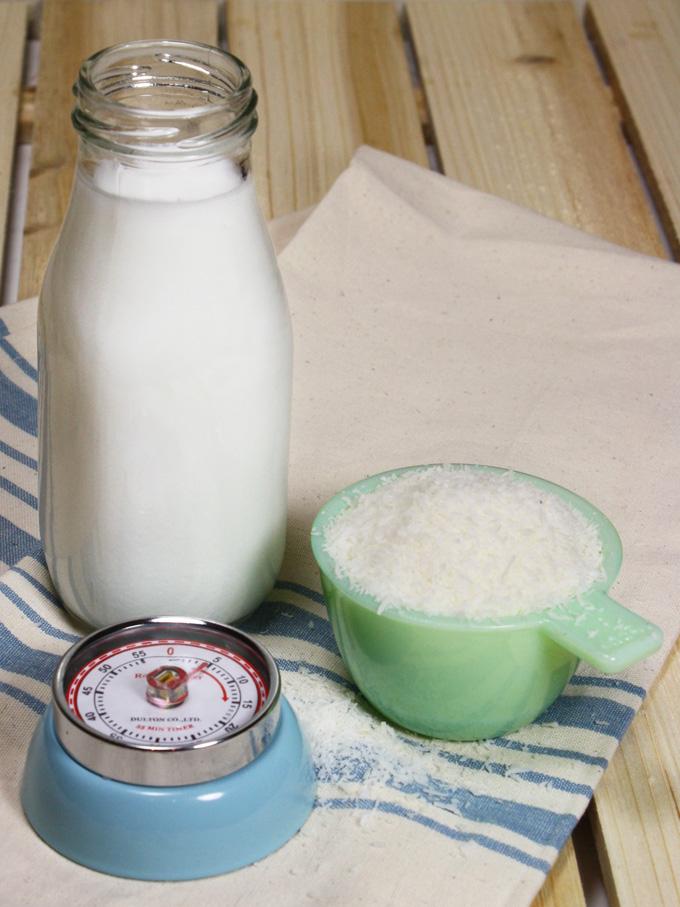 almost instant raw vegan coconut milk