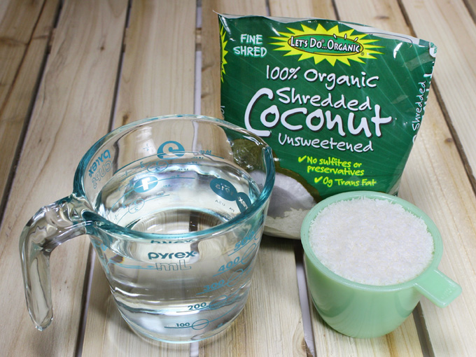 almost instant raw vegan coconut milk