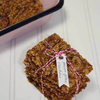 raw vegan onion flax crackers