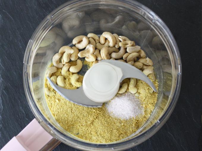 raw vegan parmesan cheese