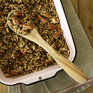Raw Vegan Chai Granola