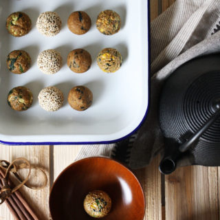 Raw Vegan Instant Miso Soup Bombs