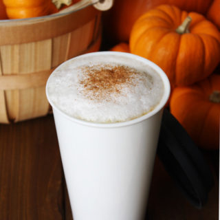 Raw Vegan Pumpkin Spice Latte