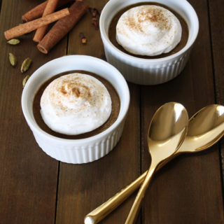 Raw Vegan Chai Avocado Pudding