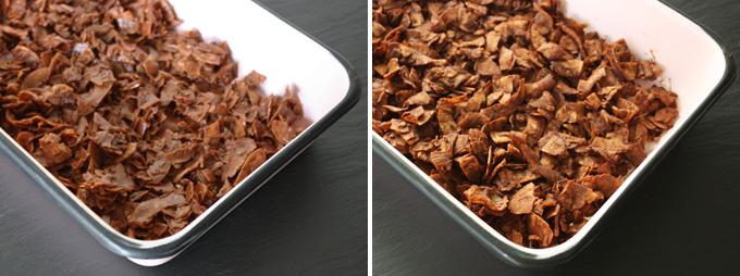 raw vegan chocolate coconut clusters