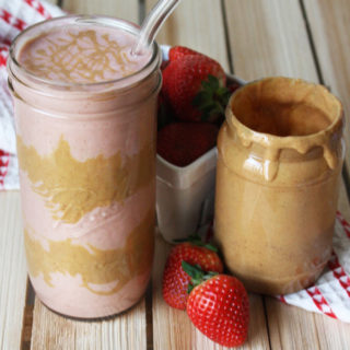 Peanut Butter and Jelly Smoothie