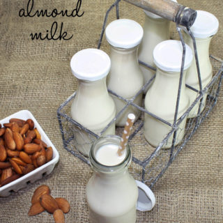 Raw Vegan Almond Milk (Nut & Seed Milk Basics)