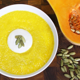 Raw Vegan Butternut Squash Soup