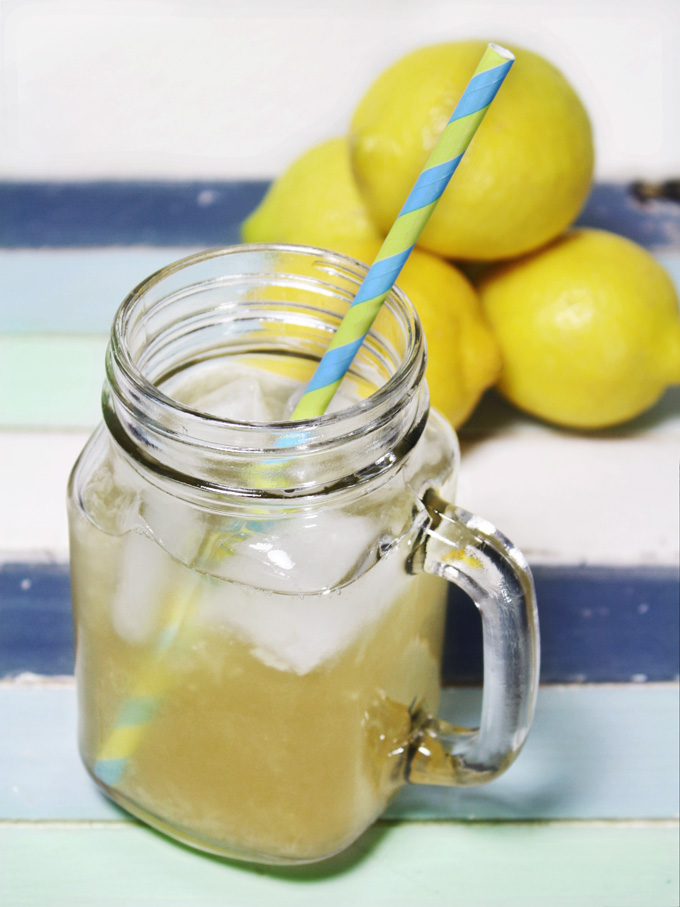 raw vegan lemonade