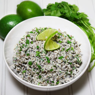 raw vegan cilantro lime rice