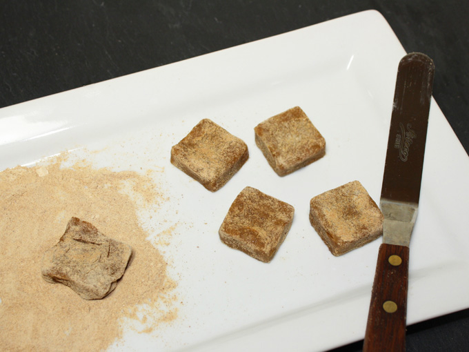 raw vegan ginger chews