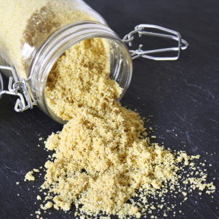 Raw Vegan Parmesan Cheese