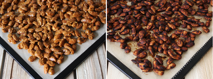 raw vegan pizza spiced almonds