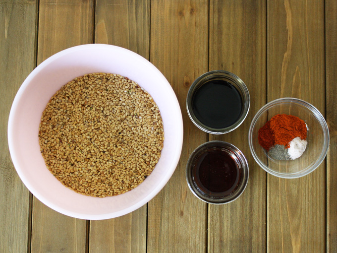 raw vegan tamari chili flax crackers