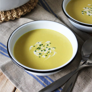 Raw Vegan Curried Corn Soup